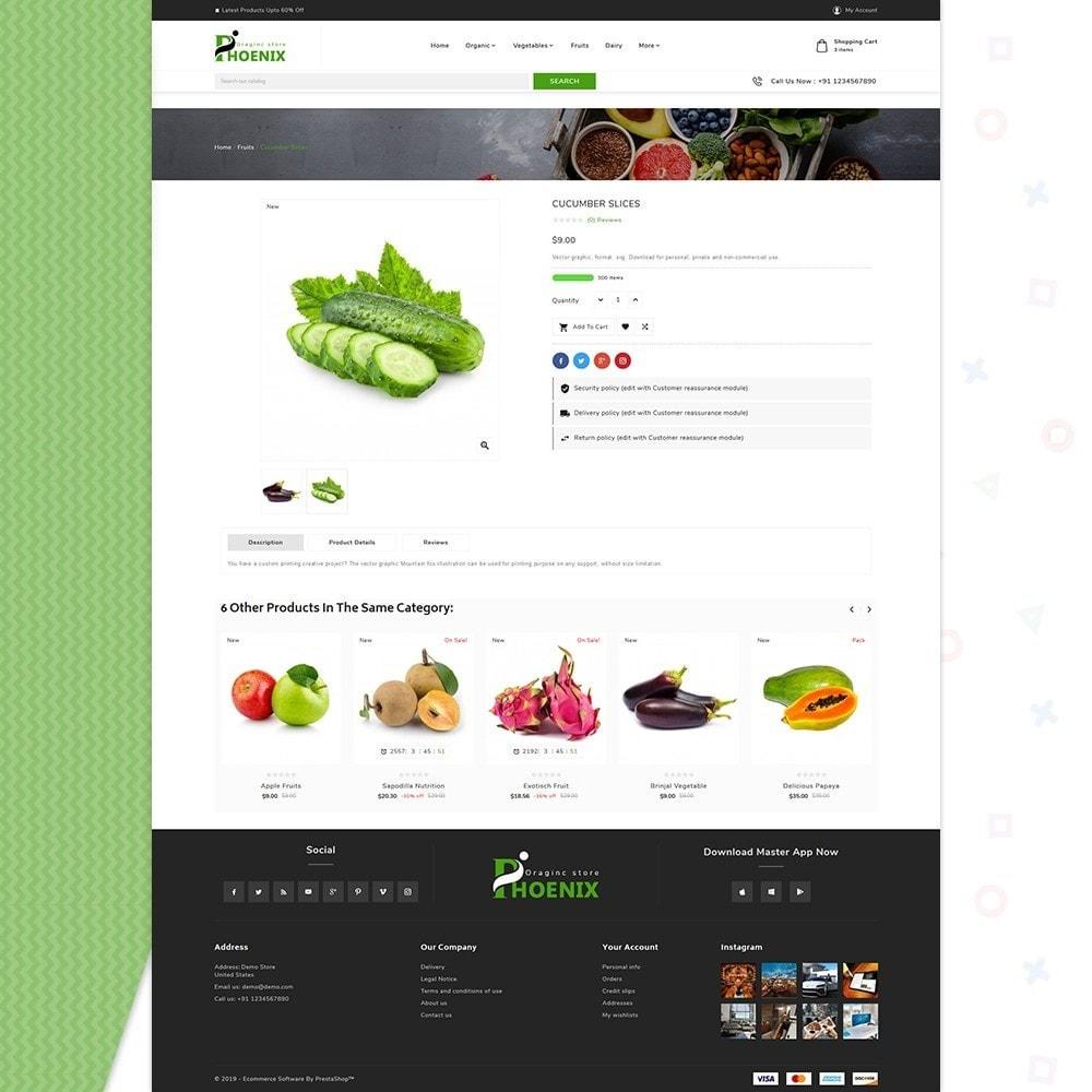 theme - Żywność & Restauracje - Phoenix Organic Big Mall - 4