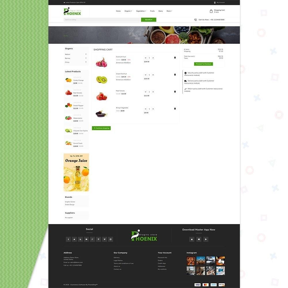 theme - Żywność & Restauracje - Phoenix Organic Big Mall - 5
