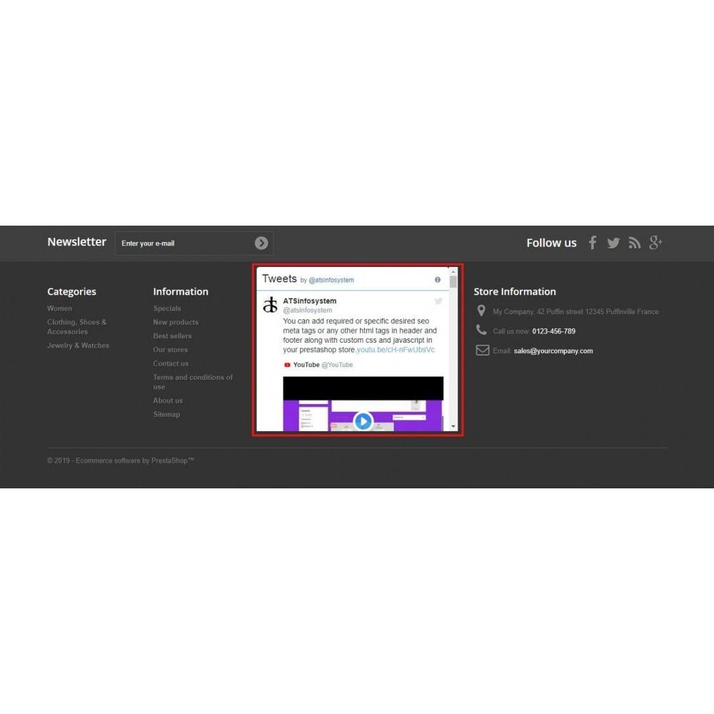 module - Sociale Widgets - Social Feed Widgets | Like box & feeds - 6
