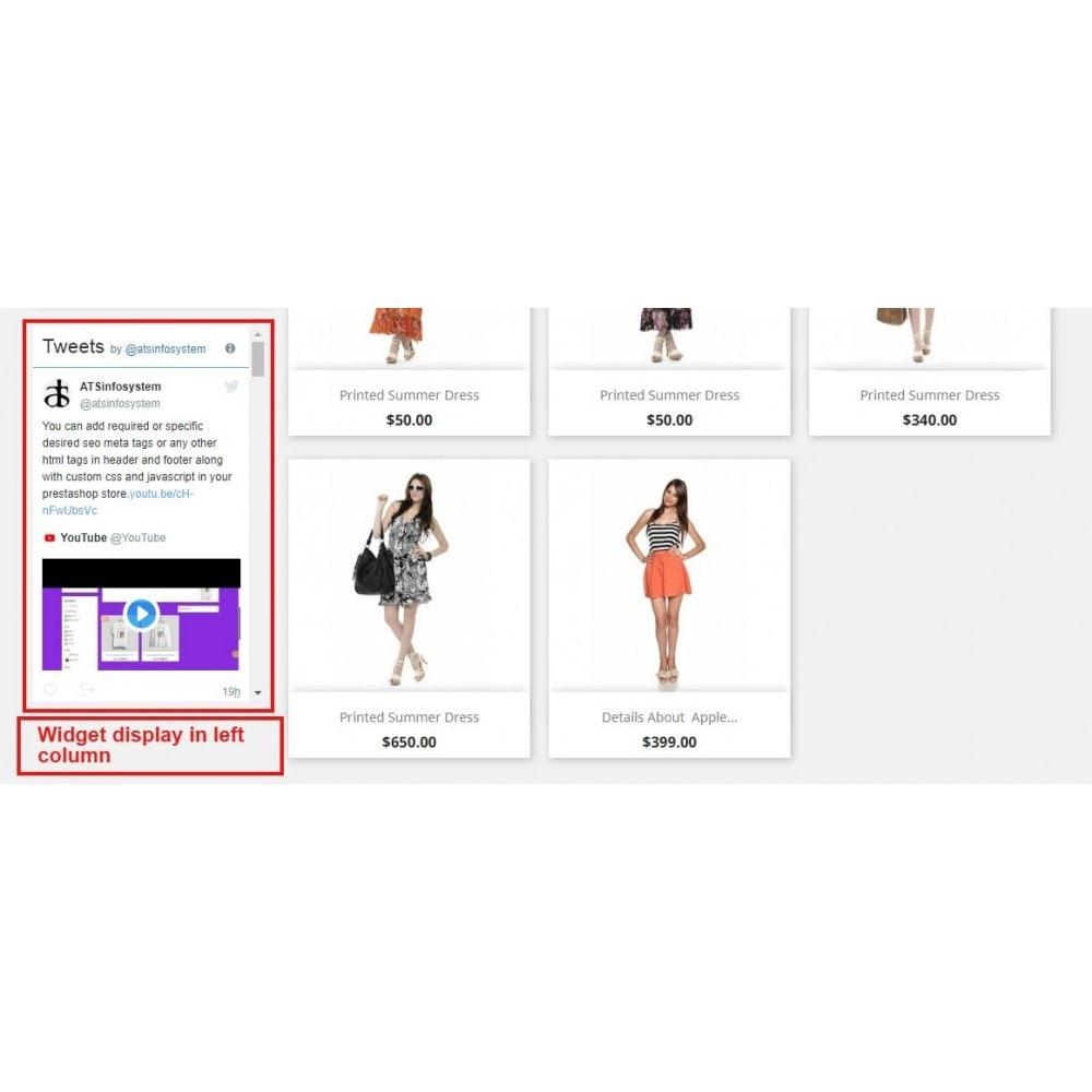 module - Sociale Widgets - Social Feed Widgets | Like box & feeds - 11