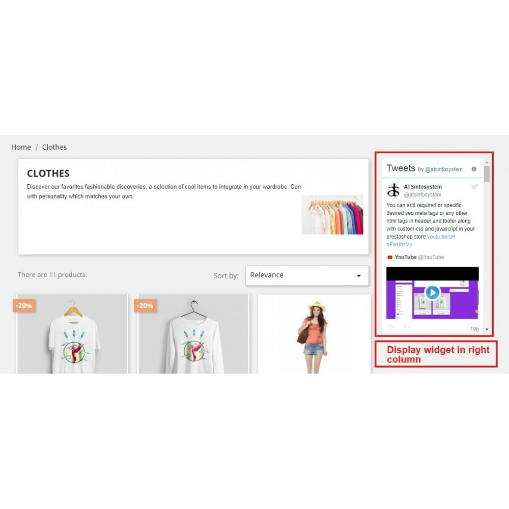 module - Виджеты для социальных сетей - Social Feed Widgets | Like box & feeds - 13