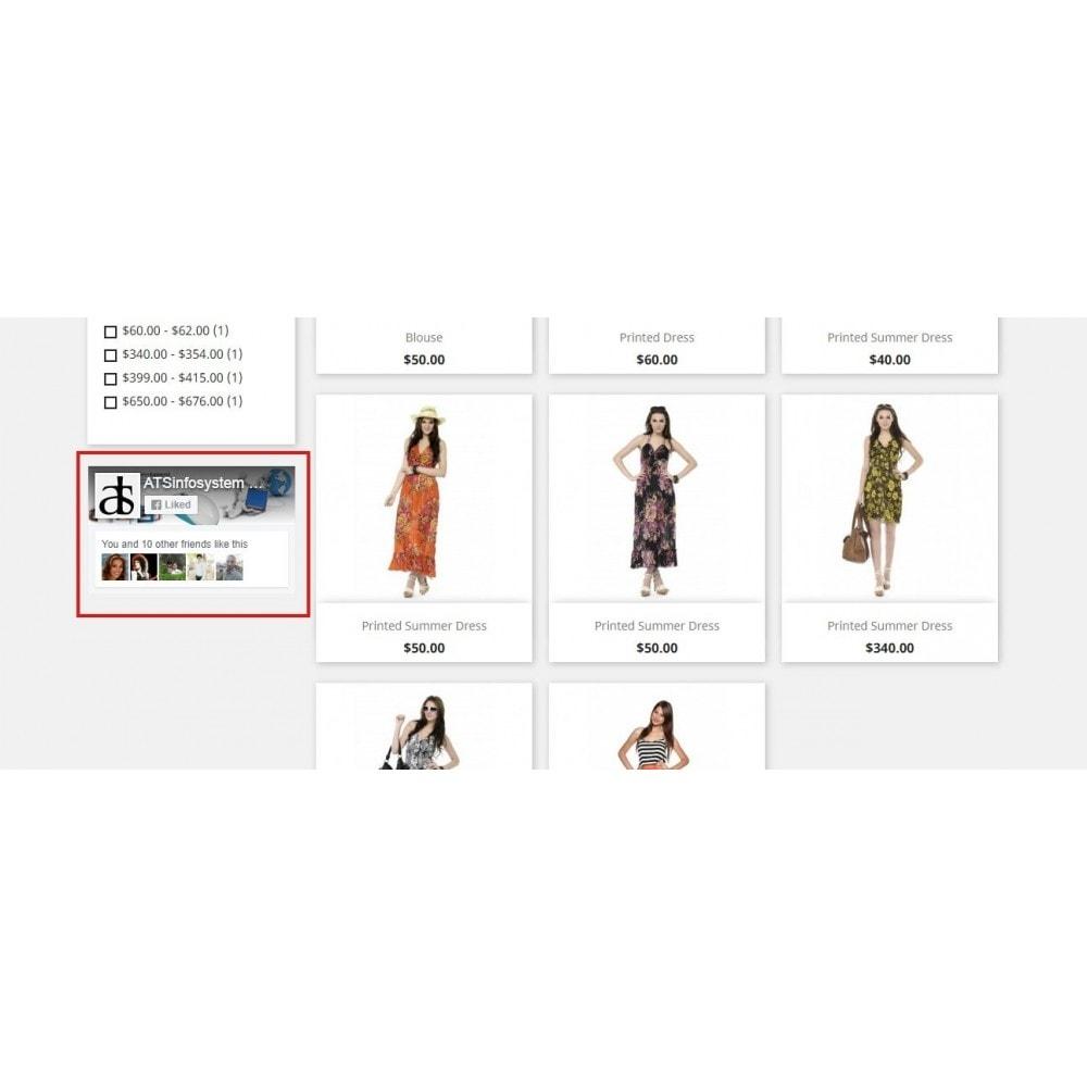 module - Виджеты для социальных сетей - Social Feed Widgets | Like box & feeds - 16