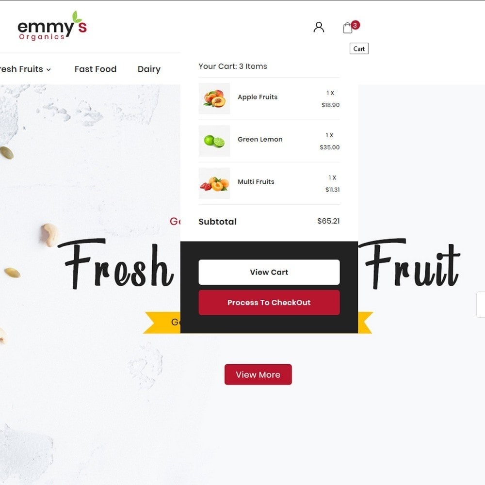 theme - Lebensmittel & Restaurants - Emmys Food Store - 7