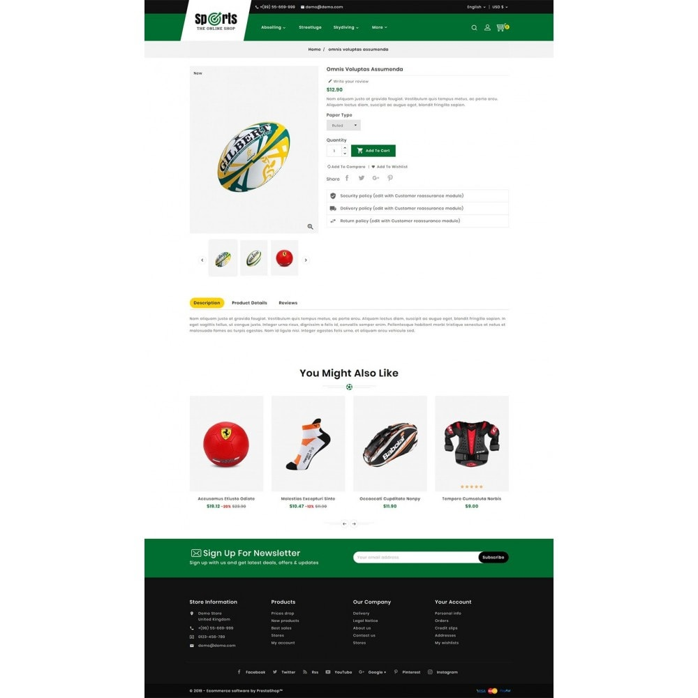 theme - Desporto, Actividades & Viagens - Sports - Seasonal Store - 5