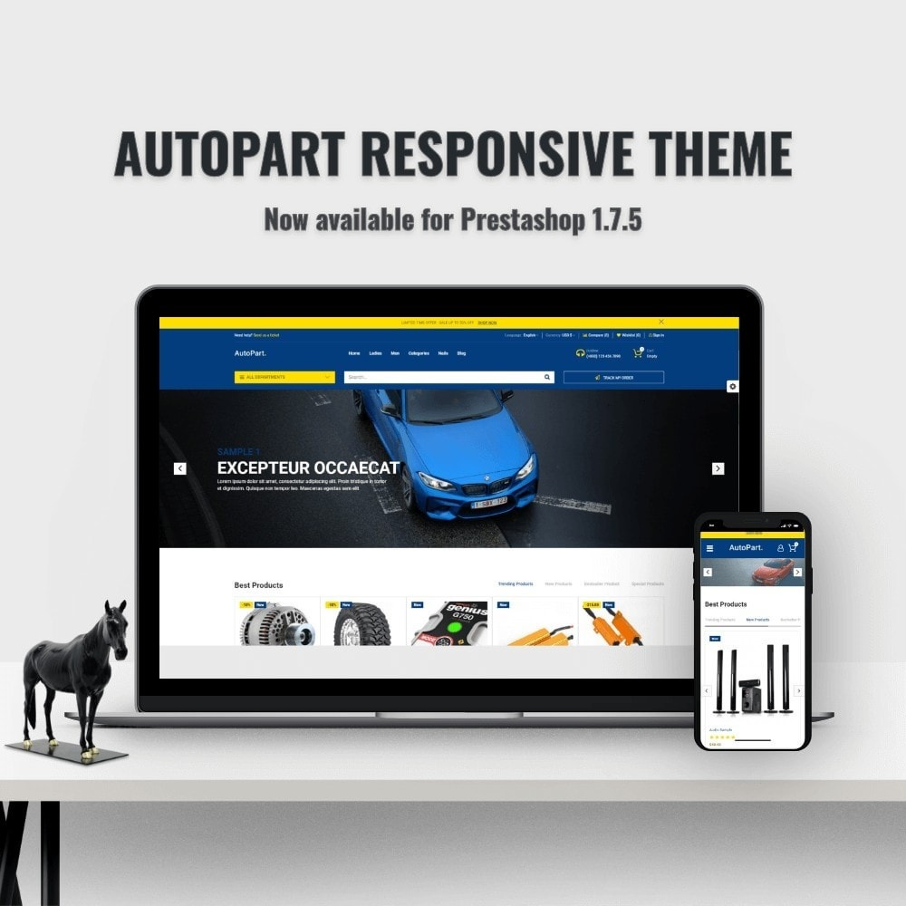 theme - Auto & Moto - Autopart and Tools Stores - 1