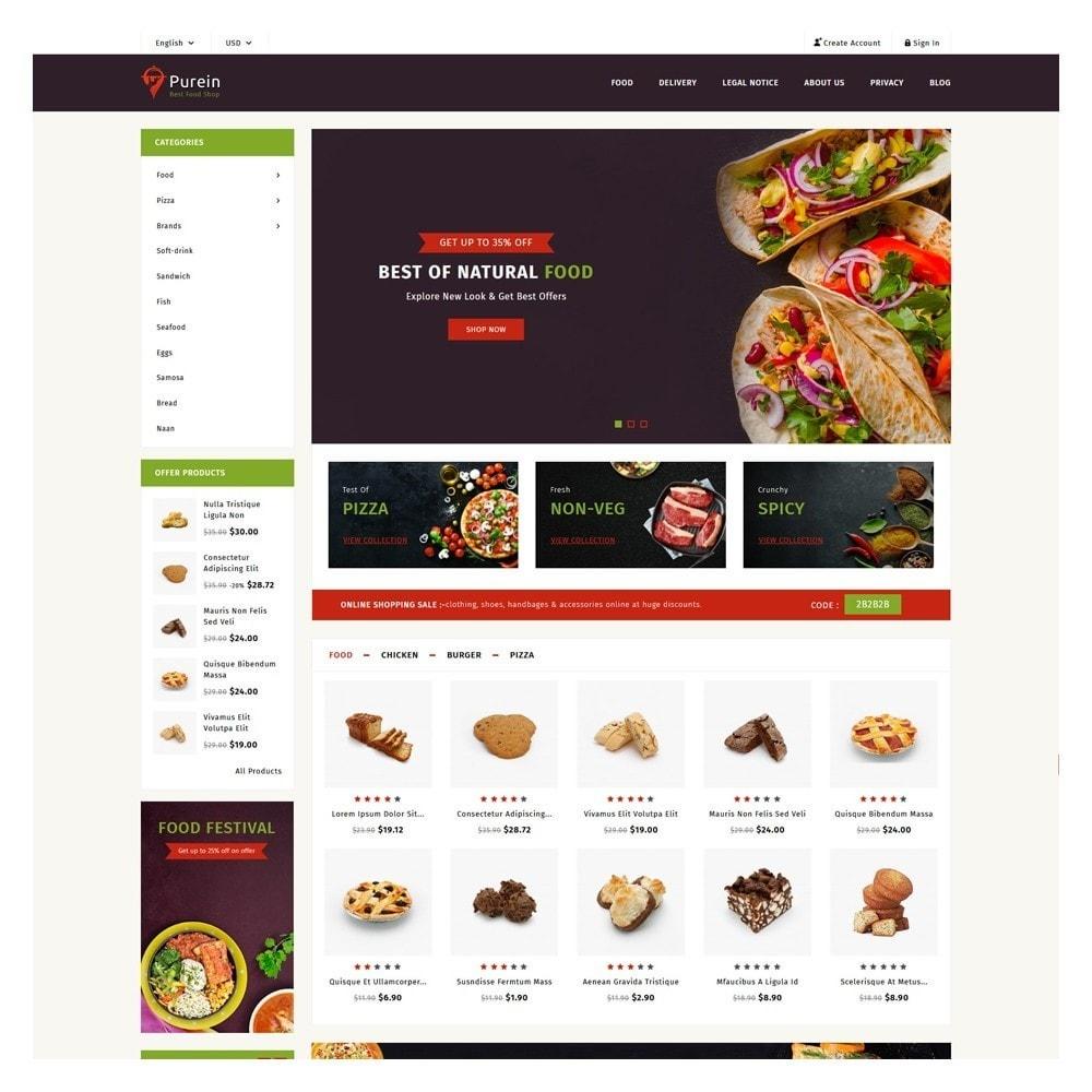 theme - Food & Restaurant - PureIn Food & Restaurant - 2