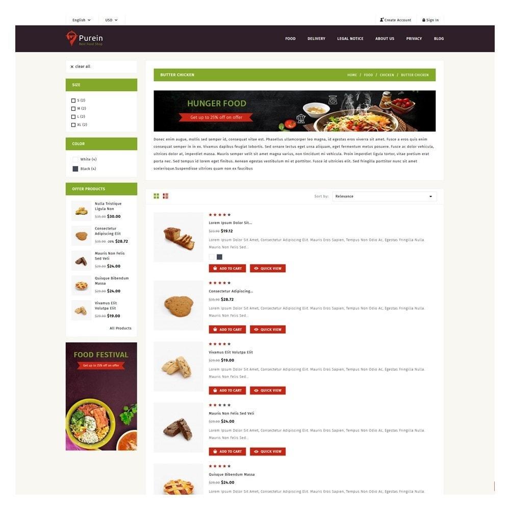 theme - Food & Restaurant - PureIn Food & Restaurant - 4