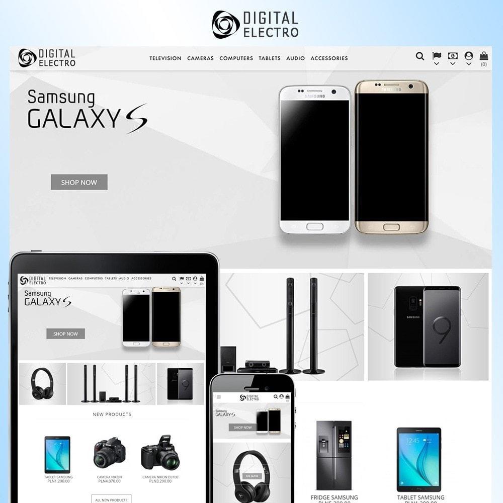theme - Elektronika & High Tech - Digital Electro - 1