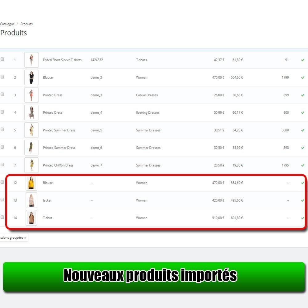 module - Import & Export de données - Importer des produits à partir de la Excel Lite - 7