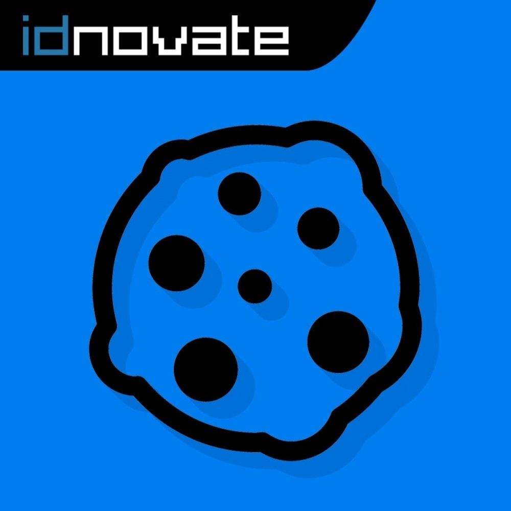 module - Wzmianki prawne - Cookies Prawo RGPD (blokuj cookies) - Aktualizacje 2021 - 1
