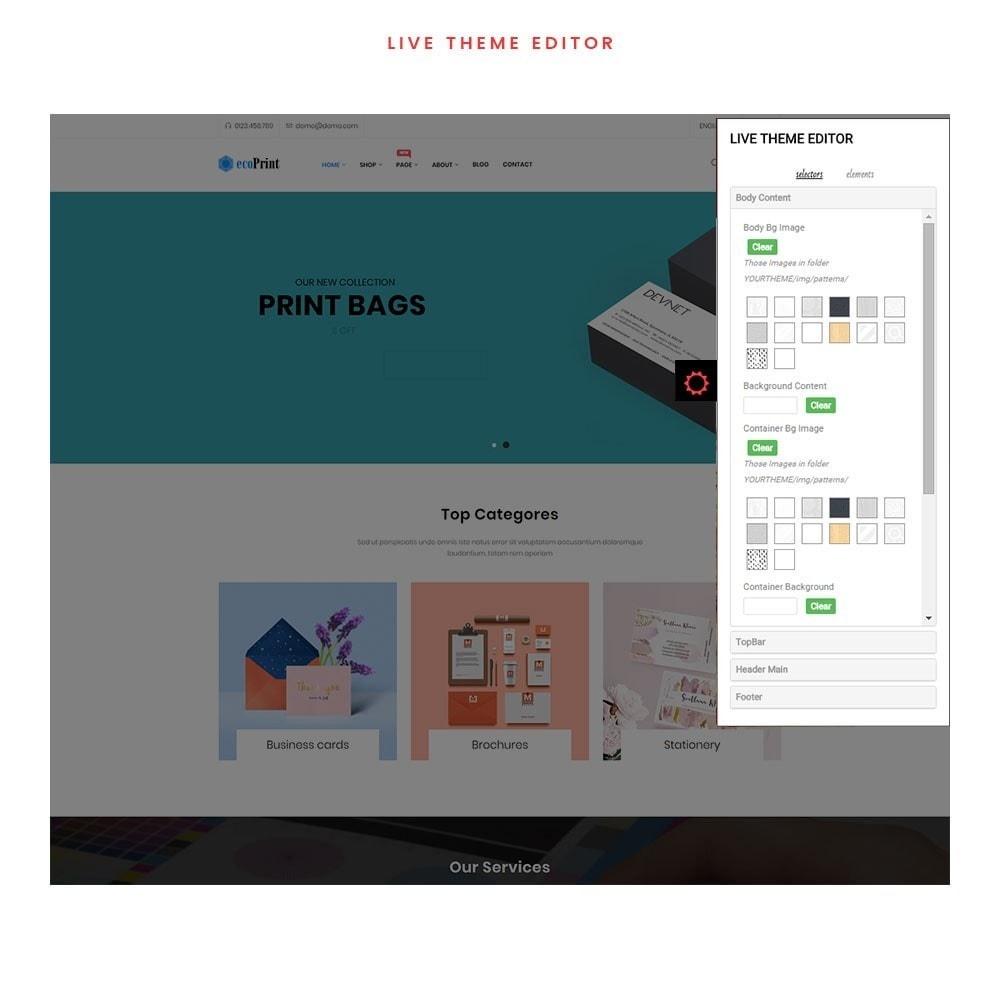 theme - Cadeaus, Bloemen & Gelegenheden - ecoPrint Shop - Responsive Printing Theme - 4
