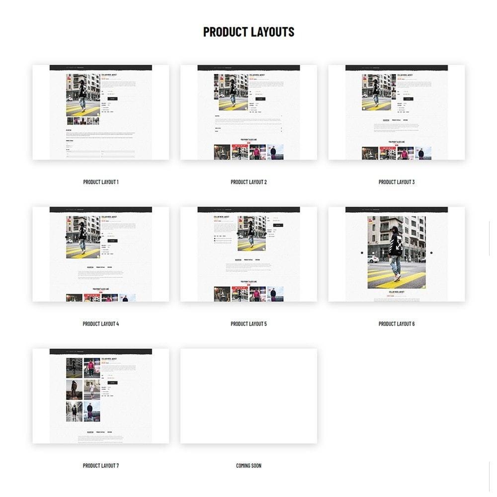 theme - Moda & Calçados - Leo Xstreet - Street Style Fashion Store - 9