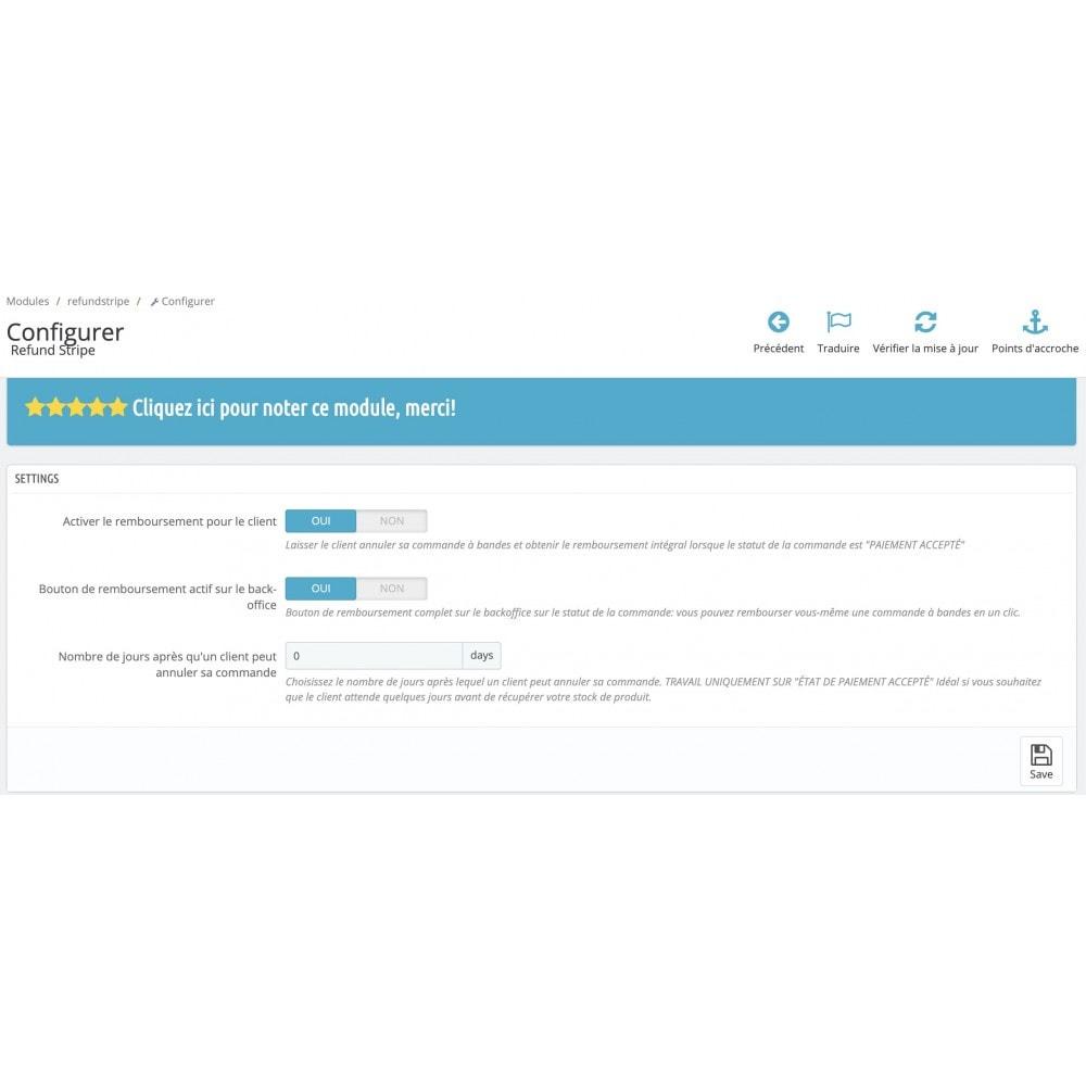 module - Gestion des Commandes - PayPal / Stripe - Remboursement commande par le client - 3