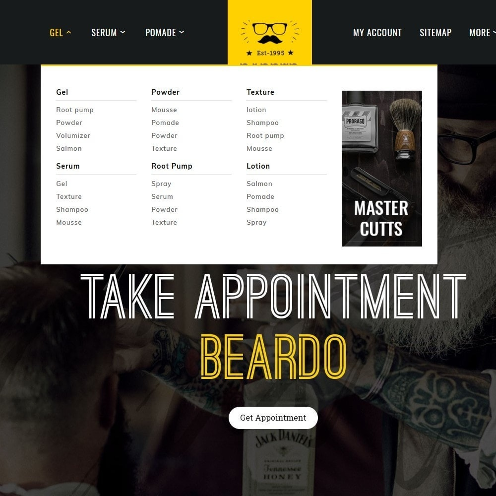 theme - Health & Beauty - Barber & Cutts - 9