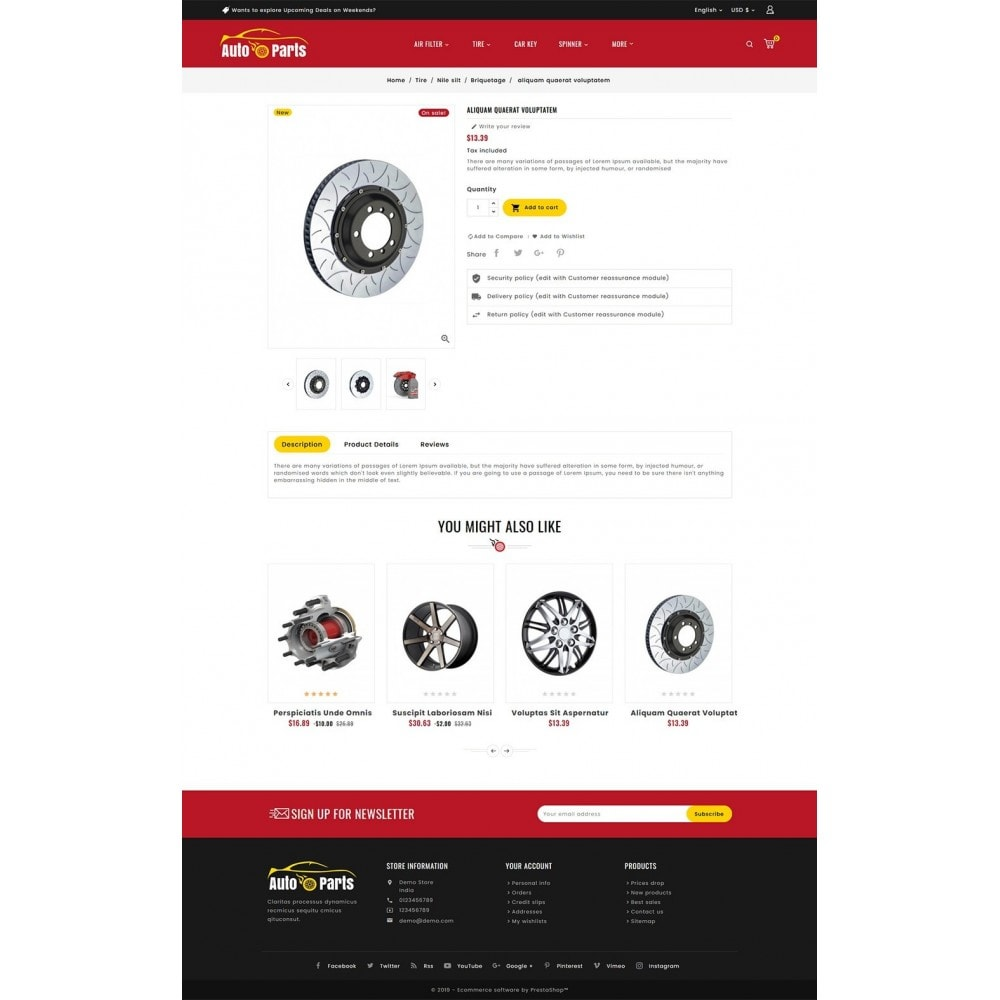 theme - Automotive & Cars - Auto Parts & Automotive - 5