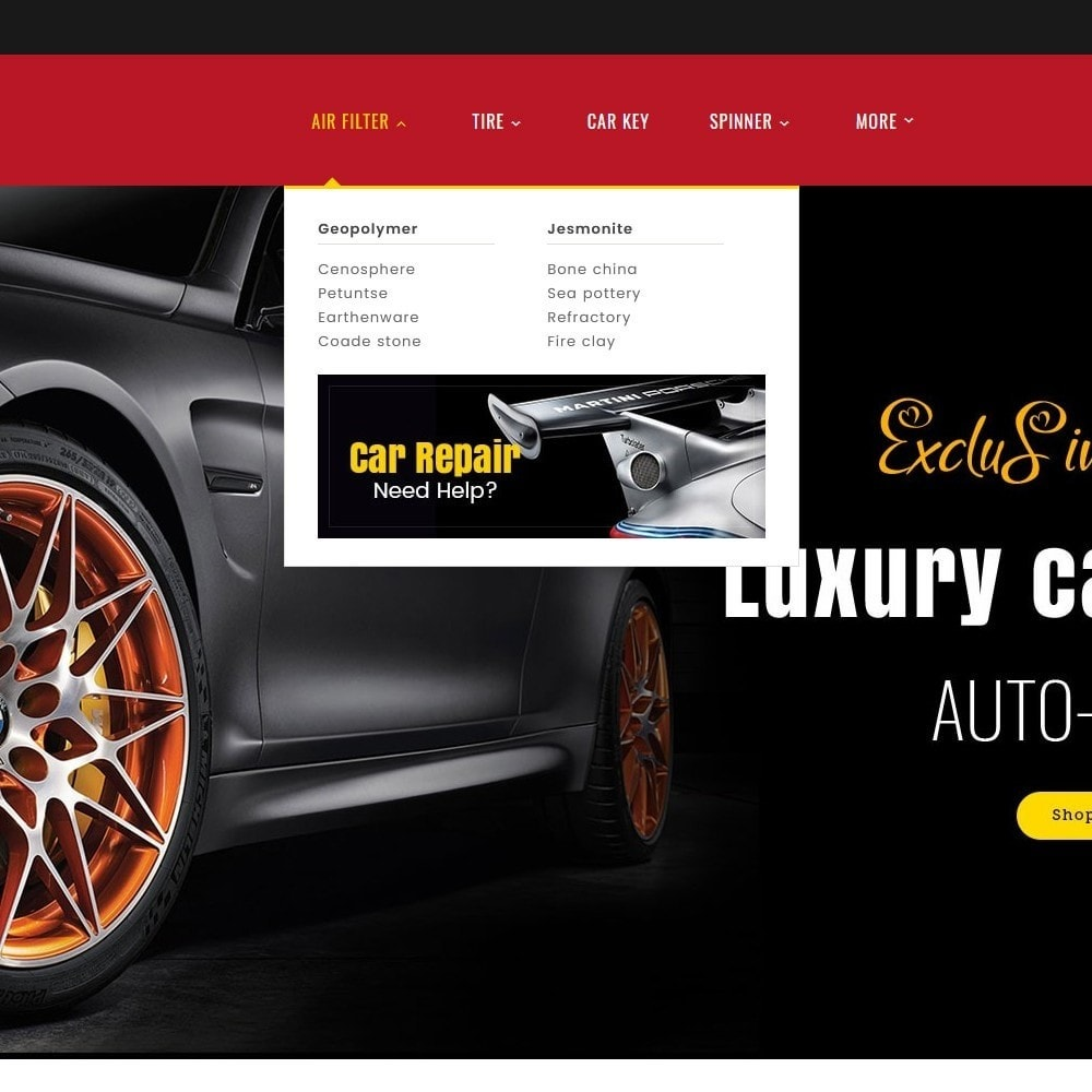 theme - Automotive & Cars - Auto Parts & Automotive - 9