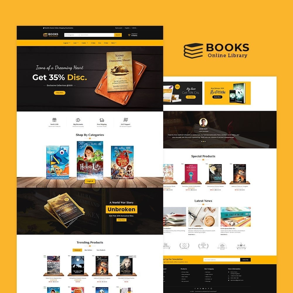 theme - Regali, Fiori & Feste - Online Books Shop - 2