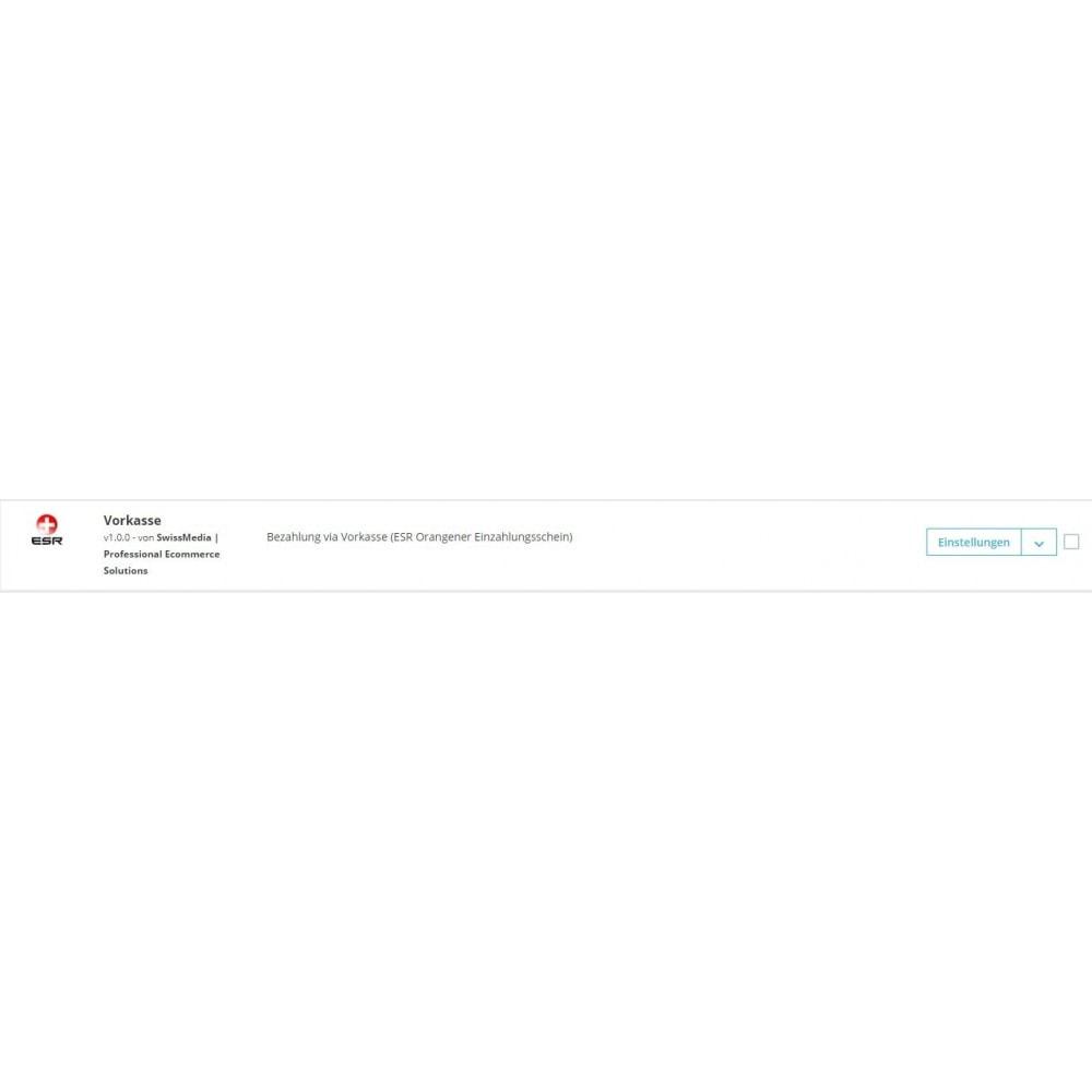 module - Autres moyens de paiement - ESR/ISR Orange Inpayment Slip Payment - 3
