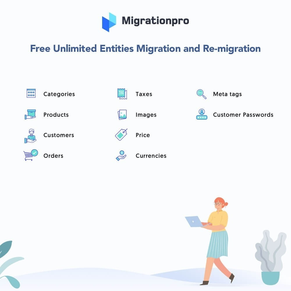 module - Migración y Copias de seguridad - MigrationPro: WP eStore to PrestaShop Migration tool - 2