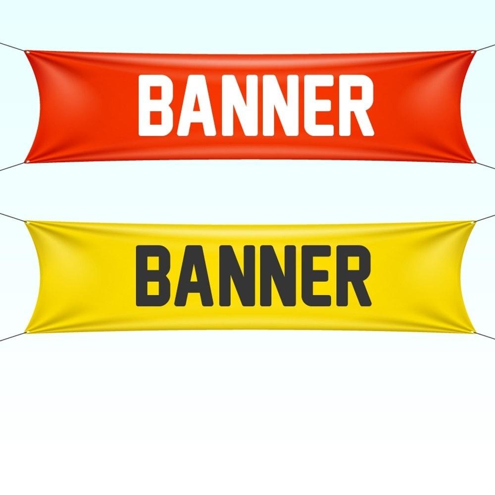 module - Blokken, Tabbladen & Banners - Custom banner - 1
