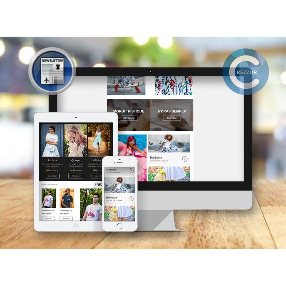 module - Nieuwsbrief & SMS - Nieuwsbrief Ontwerpen En Versturen - Drag & Drop - 1