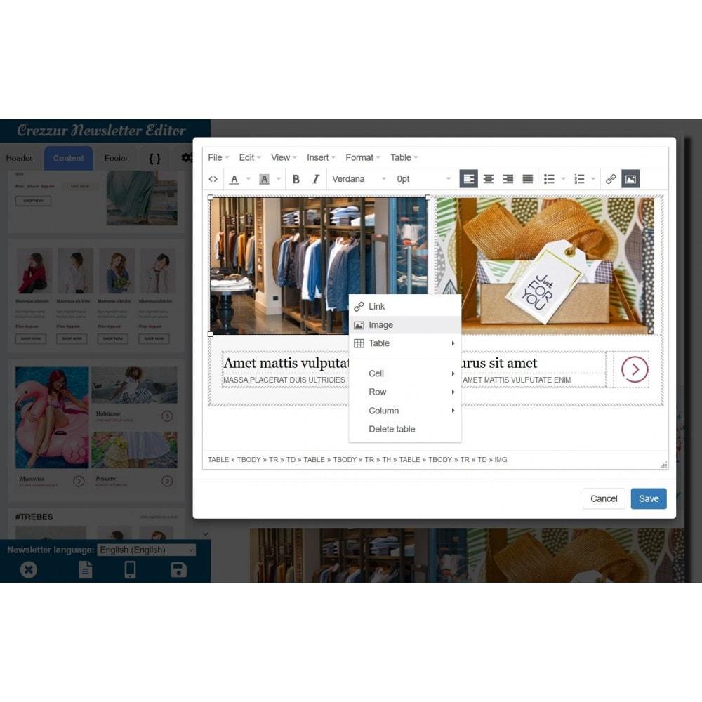 module - Nieuwsbrief & SMS - Nieuwsbrief Ontwerpen En Versturen - Drag & Drop - 4