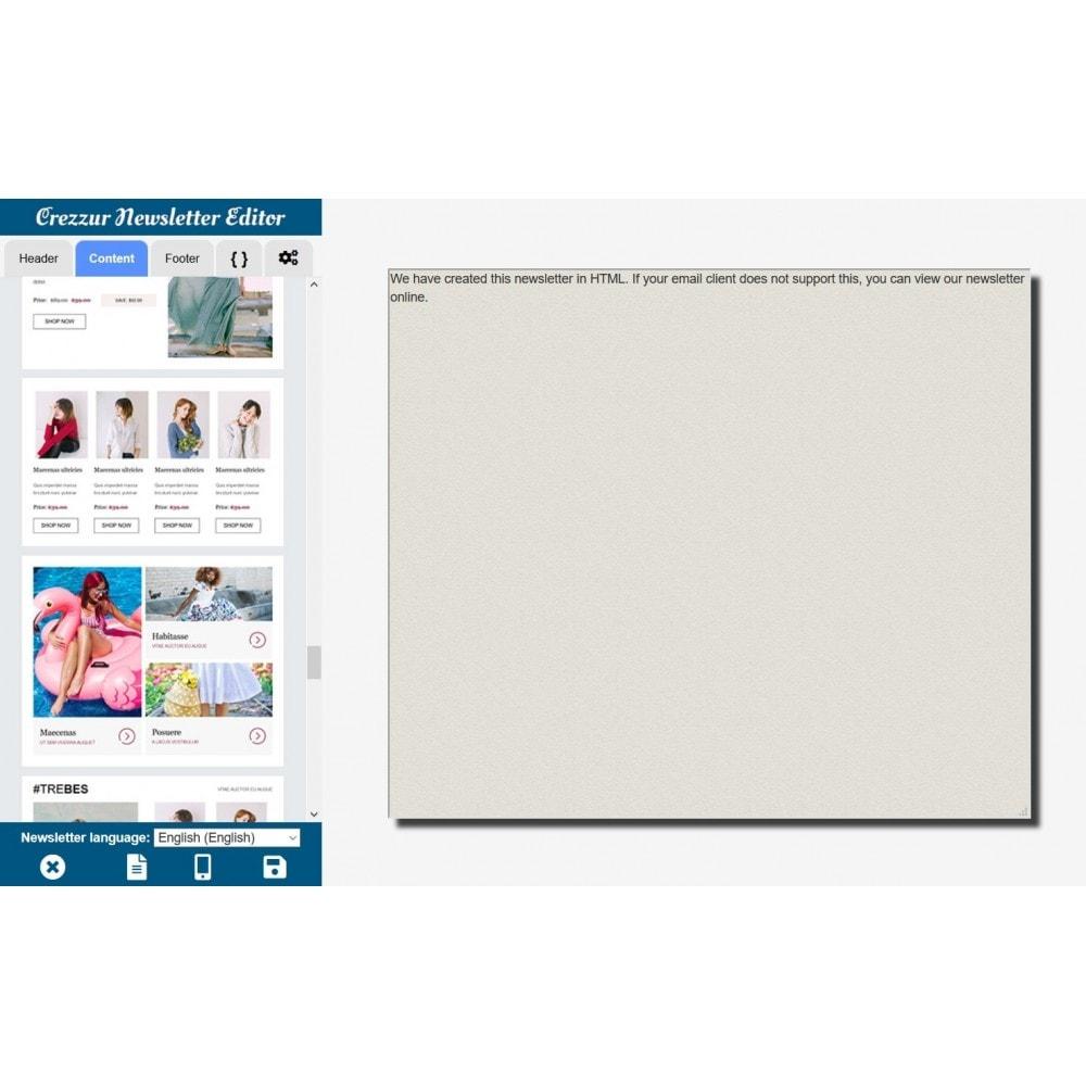 module - Nieuwsbrief & SMS - Nieuwsbrieven bouwen en verzenden - 7