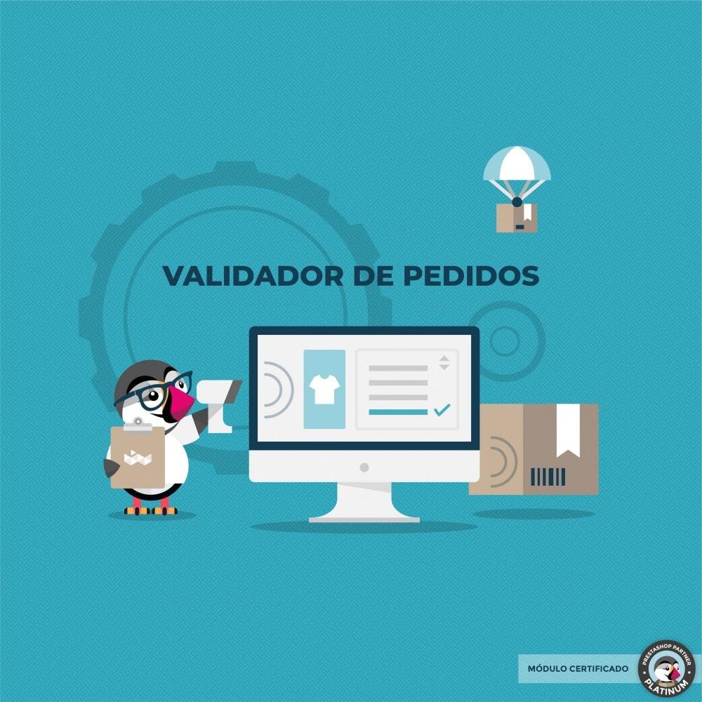 module - Gestión de Pedidos - Validador de pedidos - 1