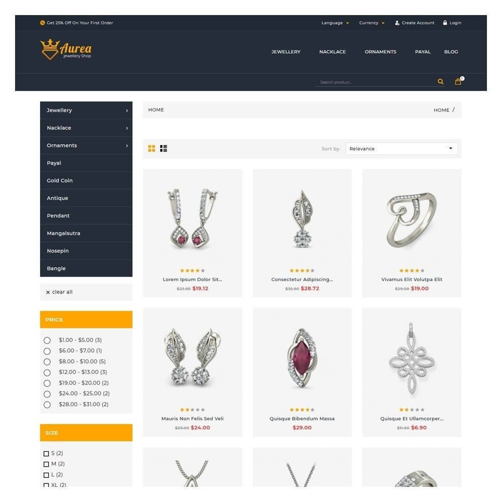 theme - Jewelry & Accessories - Aurea The Jewellery Store - 3