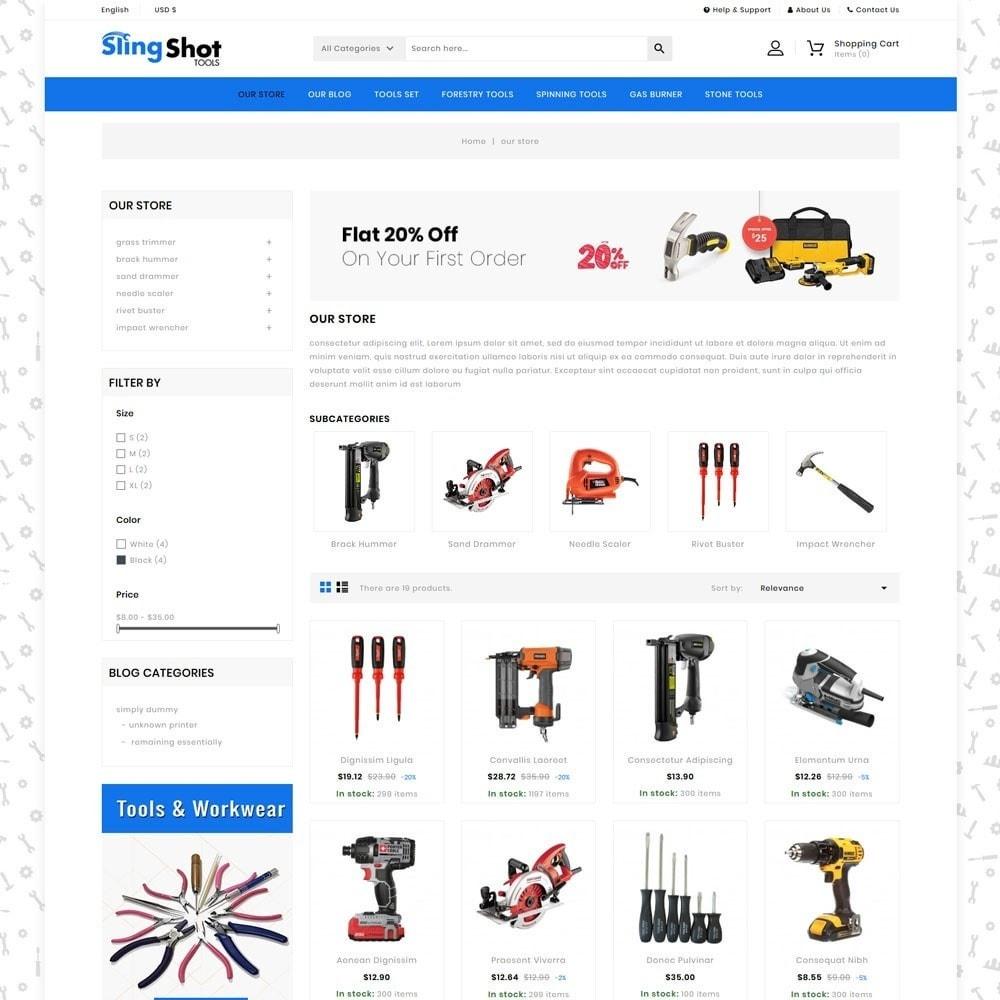 theme - Automotive & Cars - Slinshot - The Tool Store - 4