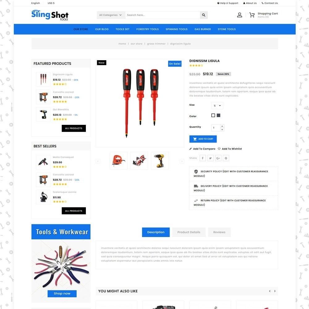 theme - Auto & Moto - Slinshot - The Tool Store - 6