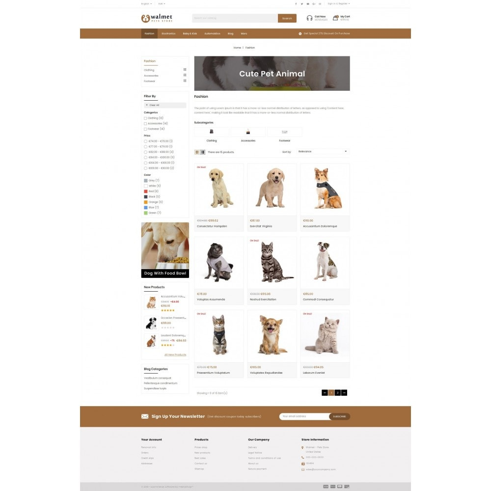 theme - Animals & Pets - Walmet - Pets Store - 3