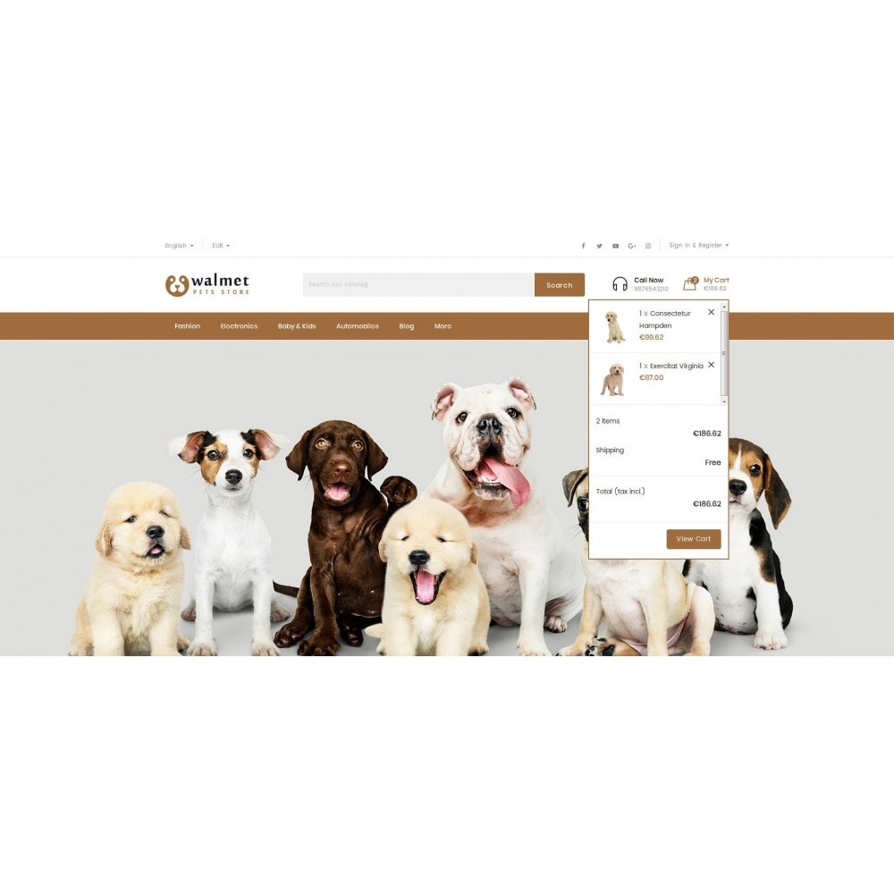 theme - Animals & Pets - Walmet - Pets Store - 7