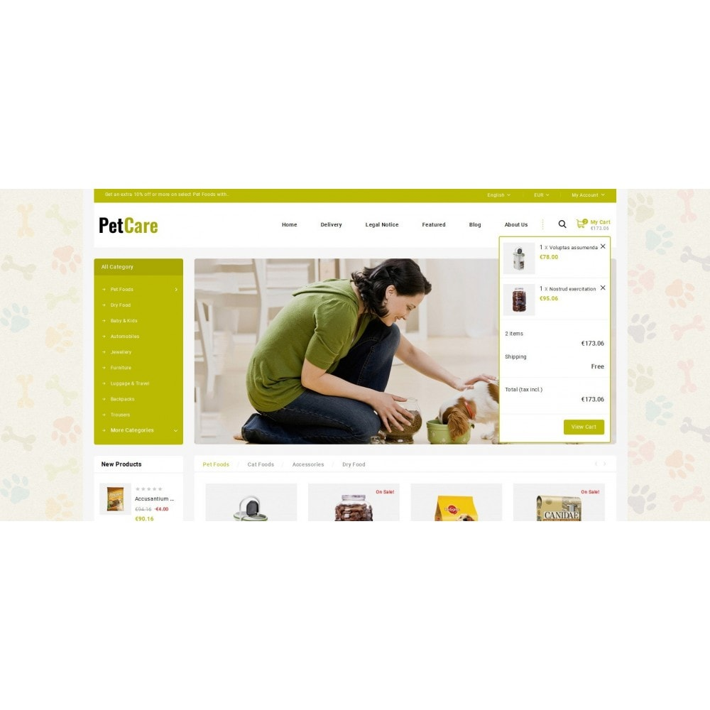 theme - Animaux - Petcare - Pets Food Store - 6