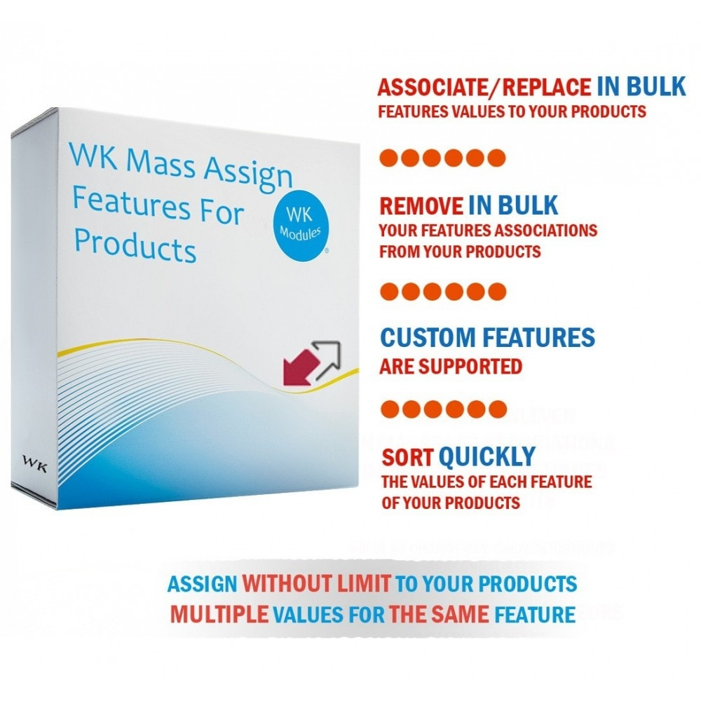 module - Snelle & seriematige bewerking - WK Mass Assign Features for Products - 1