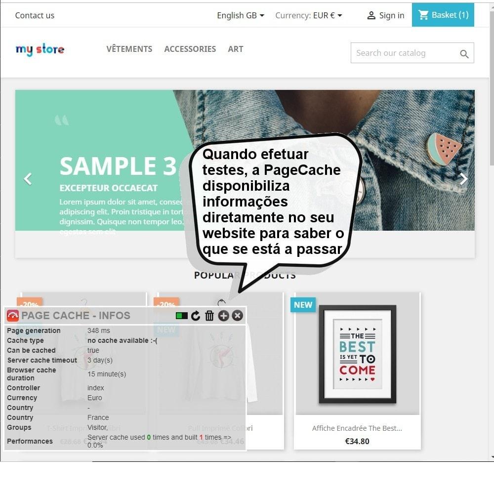 module - Desempenho do Site - Page Cache Ultimate - 8