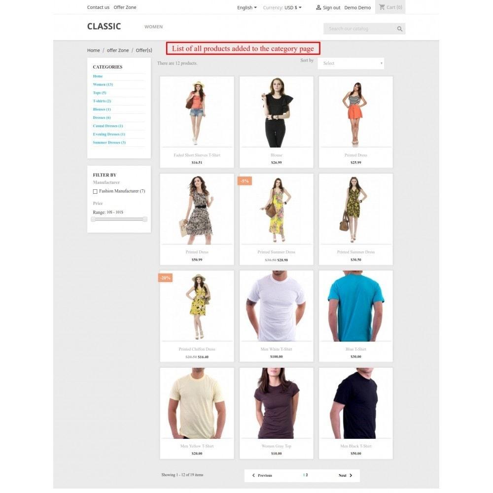 module - Promotions & Cadeaux - Collection intelligente - 7