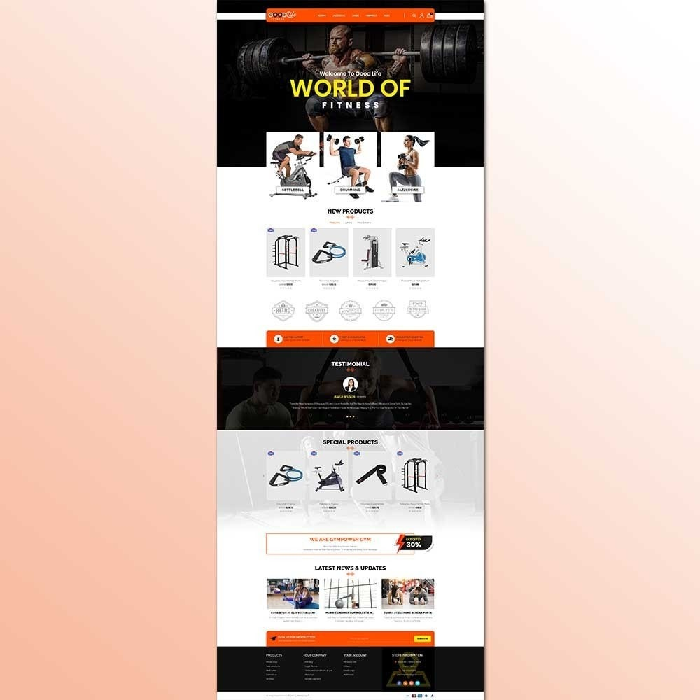 theme - Health & Beauty - Goodlife-Fitness Store - 2