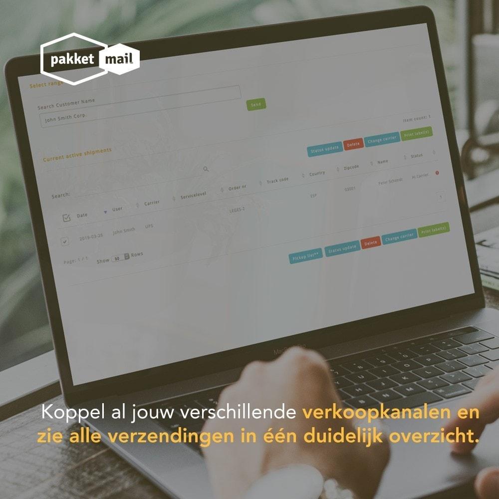 module - Vervoerder - PakketMail: Eenvoudig, voordelig en zorgeloos verzenden - 6