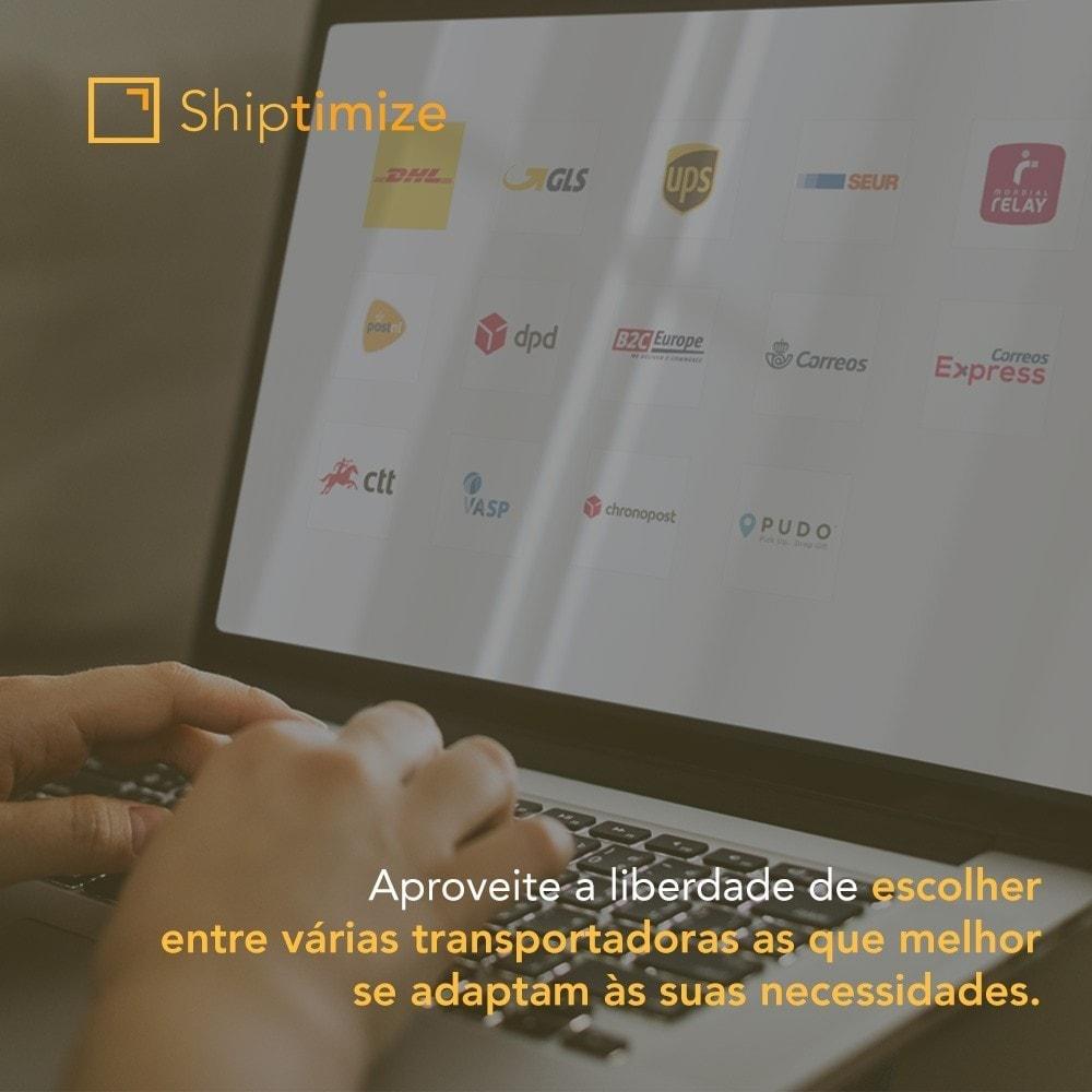 module - Transportadoras - Shiptimize - Digital Delivery Management - 1