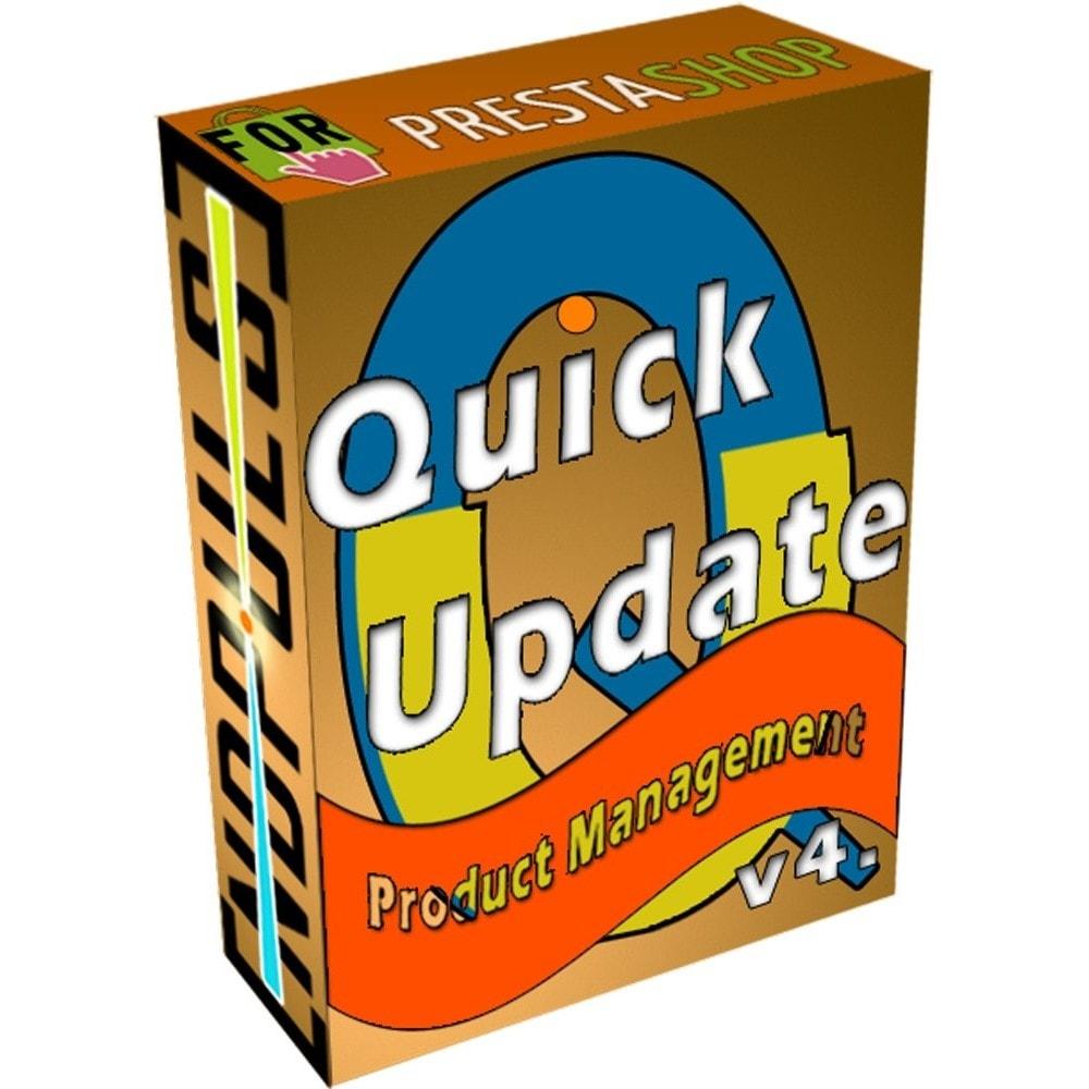 module - Quick Eingabe & Massendatenverwaltung - QuickUpdate Products Manager LITE - 1