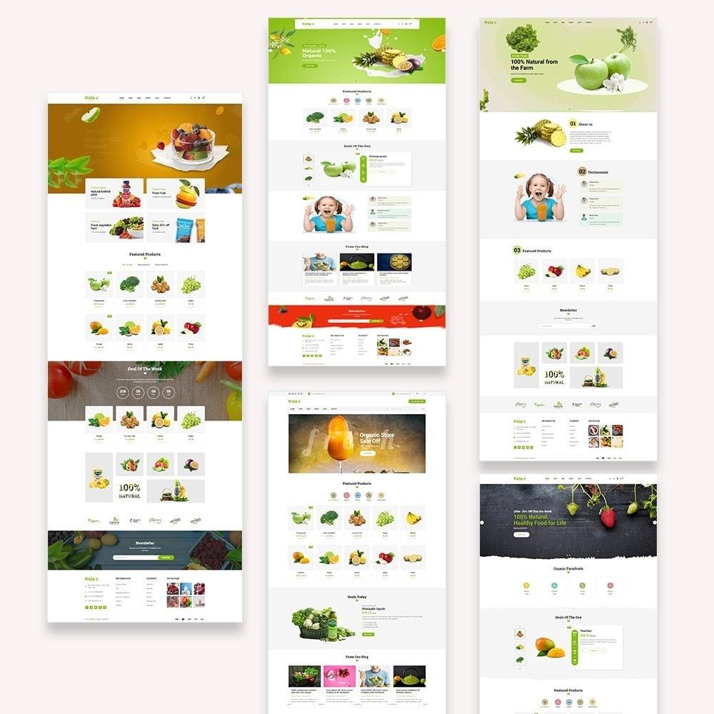 theme - Gastronomía y Restauración - Kola – Organic & Food Store - 2