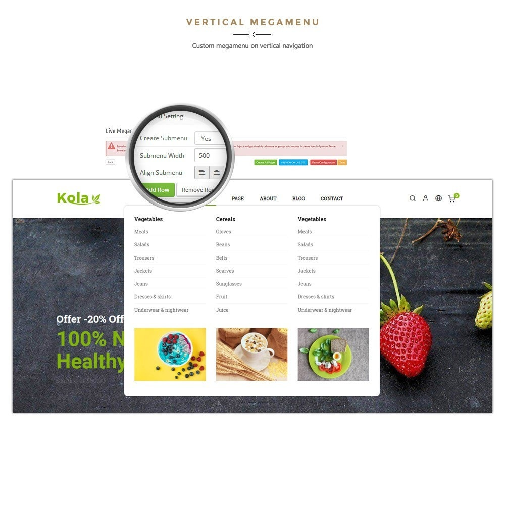 theme - Lebensmittel & Restaurants - Kola – Organic & Food Store - 8