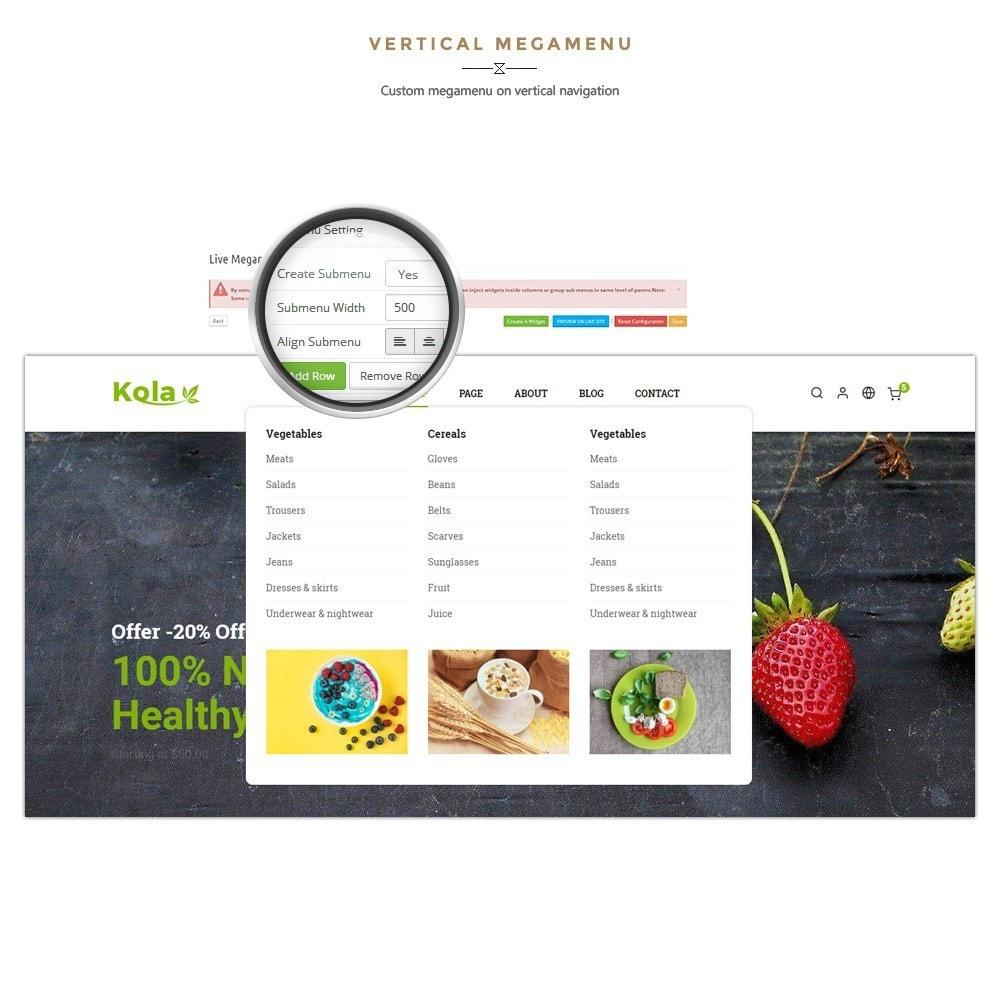 theme - Gastronomía y Restauración - Kola – Organic & Food Store - 8