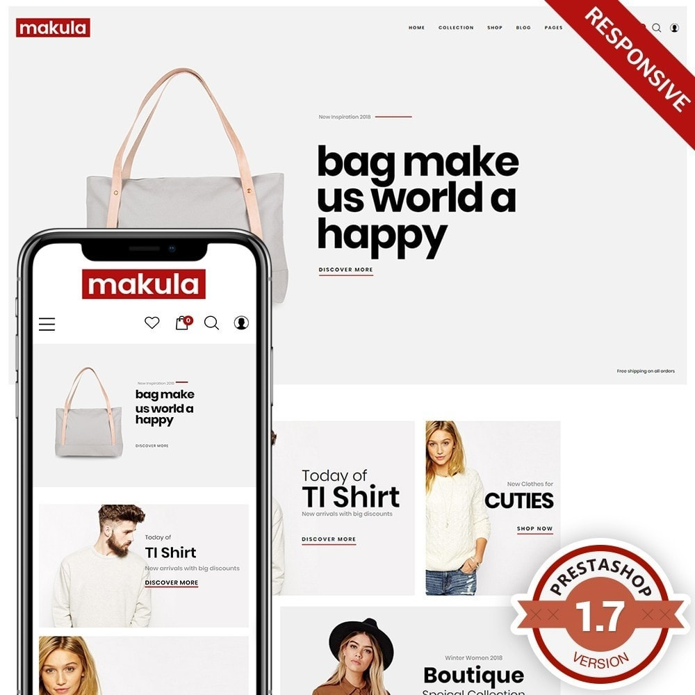 theme - Fashion & Shoes - Makula - Premium Fashion Theme - 1