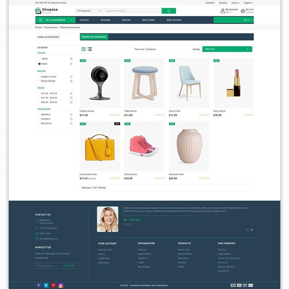theme - Electronics & Computers - shopeza - The MultiStore Theme - 3