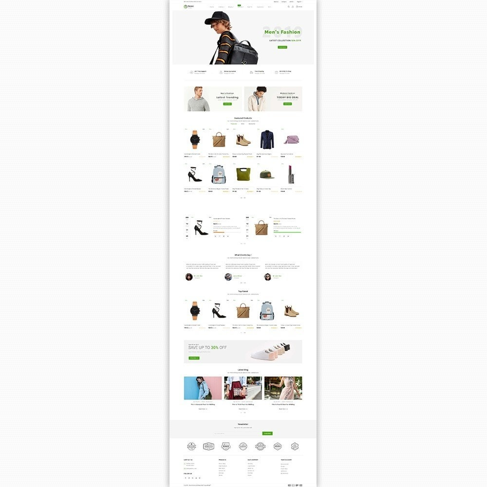 theme - Fashion & Shoes - Rexez - The Best Fashion Store - 2