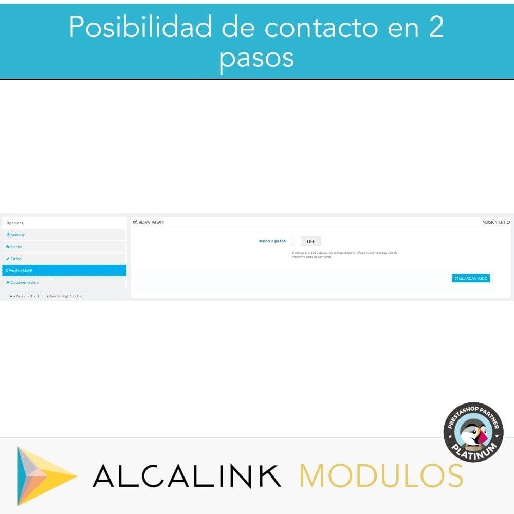 module - Asistencia & Chat online - Contacto por WhatsApp en 1 Clic - 5
