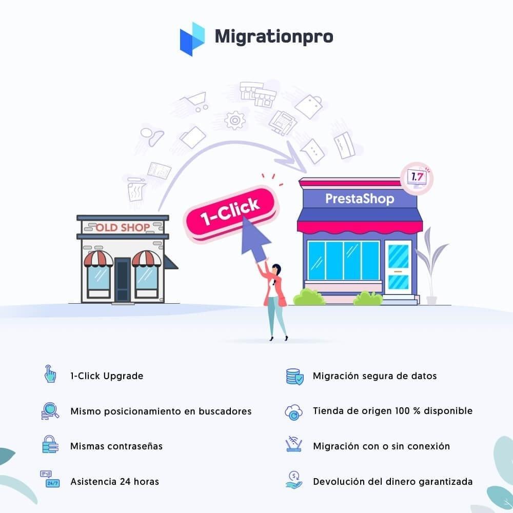 module - Migración y Copias de seguridad - Actualización de Prestashop y herramienta de migración - 1