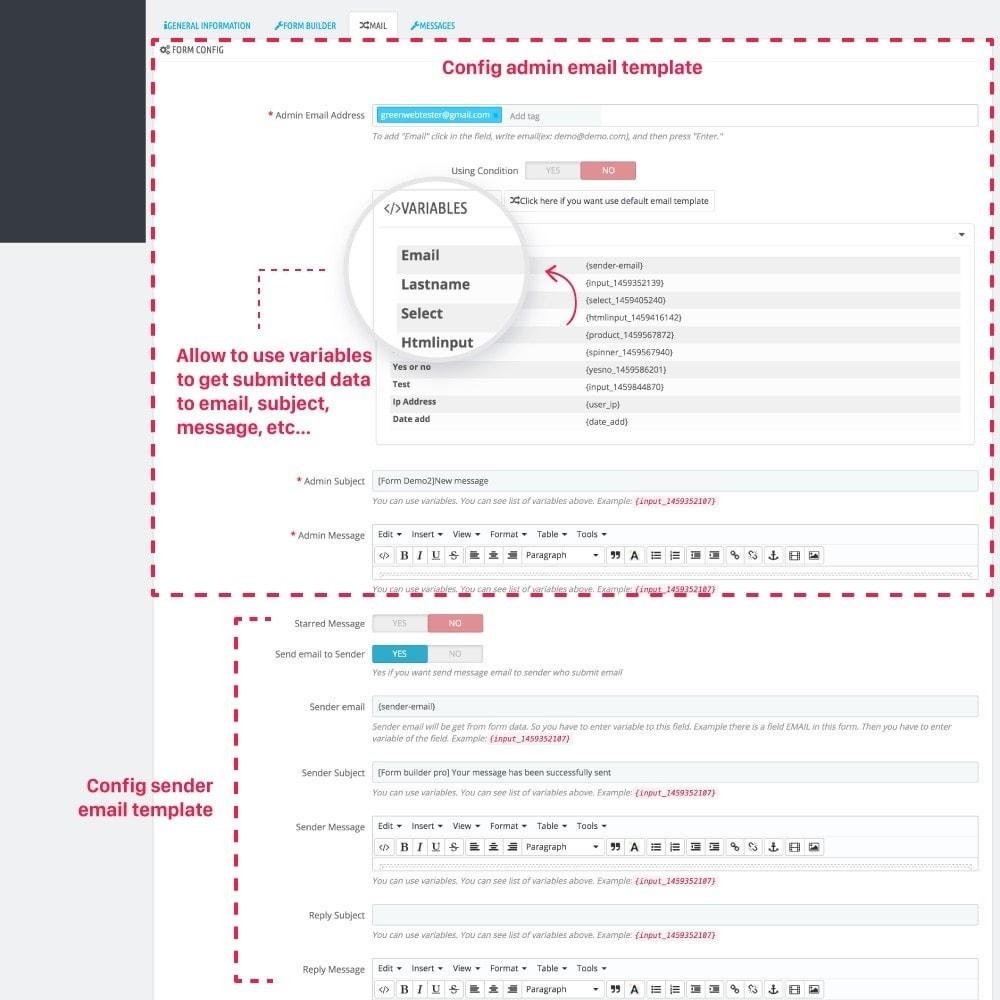 module - Contact Forms & Surveys - Simple Form Builder - 8